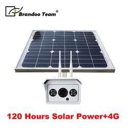 1080 P 30 Вт 55 Вт 100 Вт Солнечный Мощность Камеры Скрытого видеонаблюдения Беспроводной Wi-Fi Открытый IP Камера Поддержка 3g/4 г SIM