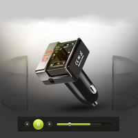 MP3 Player Wireless FM Transmitter Handsfree USB Car Bluetooth Dual USB Interface MP3 Player Charger