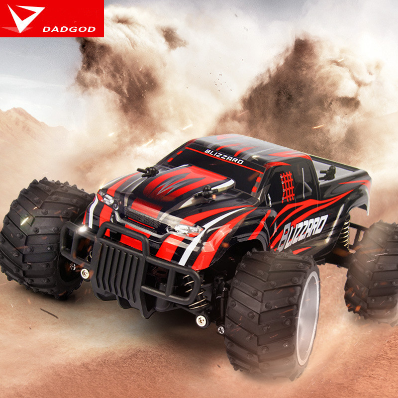 Hot High-speed SUV Radio-controlled Toy Cars Big Foot Climbing Off-road Drift Children's Electric Toy Car Juguetes Brinquedos rc car high speed racing drift car remote control car 2 4g 4wd 20km h radio controlled vehicle machine off road buggy toy hobby