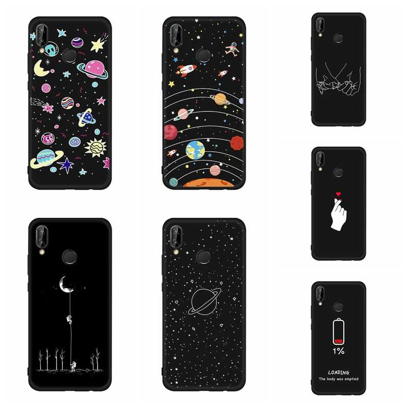 Pattern Soft TPU Silicon Cases For Huawei Honor Note 10 8X Max 8C Nova 3 3i Mate 10 Lite Mate 20 X P20 Pro Phone Back Case Cover