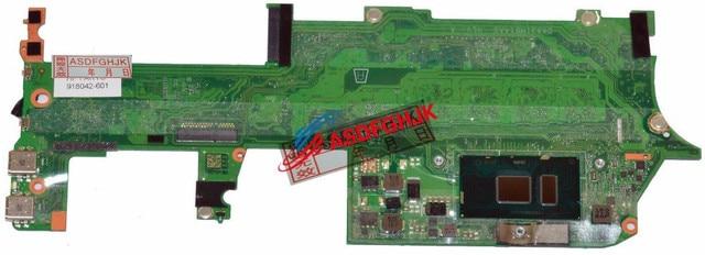 Original pour HP Spectre x360 13-AC carte mère 16 GB w/i7-7500U 2.7 GHz CPU 918042-601 DAX31MB1AA0 entièrement testé