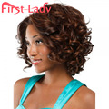 1pcs Synthetic Wigs For Black Women Wig Short Wavy Perruque Synthetic Women Pelucas Sinteticas Natural Hair Black Wig