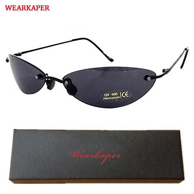 47ddfc1e6d83c WEARKAPER Classic Oval glasses Matrix Morpheus Sunglasses Movie Sun Glasses  Oculos De Sol Feminino