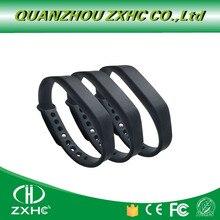(3 шт./лот) Регулируемый силиконовый водонепроницаемый браслет NFC Ntag213