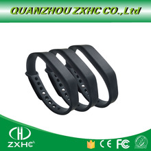 (3PCS/LOT) Adjustable Silicone Waterproof NFC Wristband Bracelet Ntag213 Tags