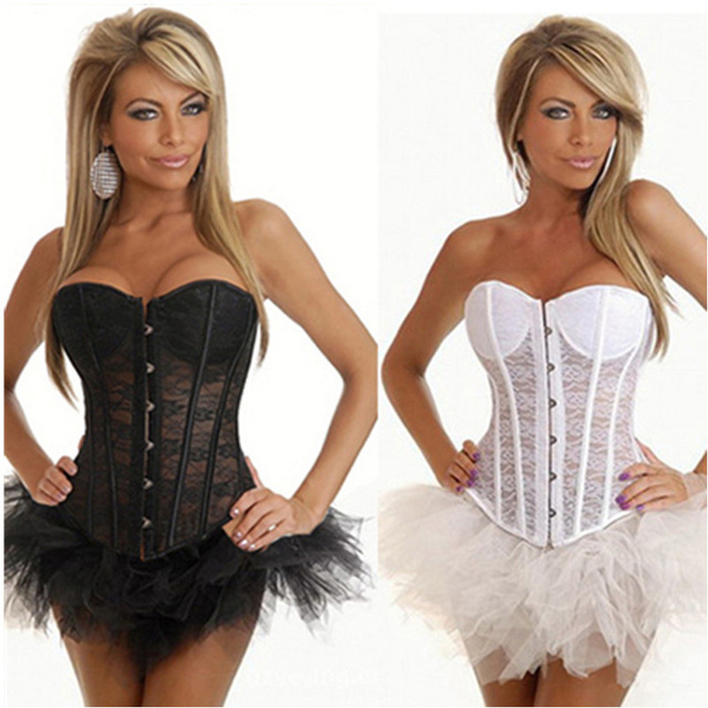 1pcs Sexy Lingerie Waist  Corsets Steampunk Gothic Corsets and Bustier Wedding Dress Corset Steel Bone Corset 6XL SX004