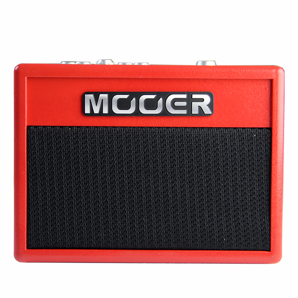 MOOER Super Tiny Twin Muliti-Effects Guitar Amplifier Very small and exquisite, can be hung at waist