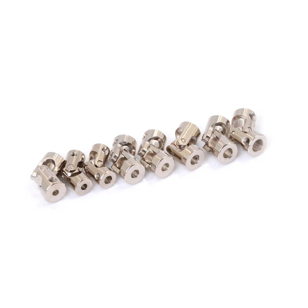 Rc Boot Metalen Cardan Joint Gimbal Koppelingen Kruiskoppeling Voor 4*3.175 Mm/4*4 Mm/ 4*5 Mm/5*3 Mm/5*4 Mm/5*5 Mm/ 5*6/6*6 Mm Hot Koop