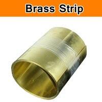 Calço de bronze Bobina de CuZn40 2.036 CW509N C3712 C28000 H62 tiras de Folha De Bronze Gap Filler Espaçador Junta do Molde Da Máquina do CNC