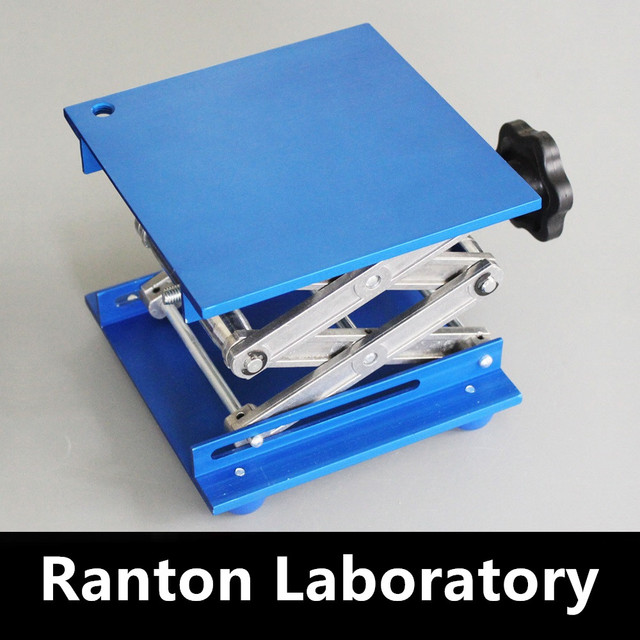 Free Shipping 1 unit High-end boutique laboratory aluminum alloy oxidation lift aluminum alloy general height size 100/150/200mm