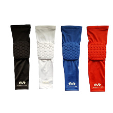 2 pc/set Mcdavid Basketball Honeycomb Arm Eblow Pads Anti-collision Lengthen Armguards Sports Compression Arm Sleeve