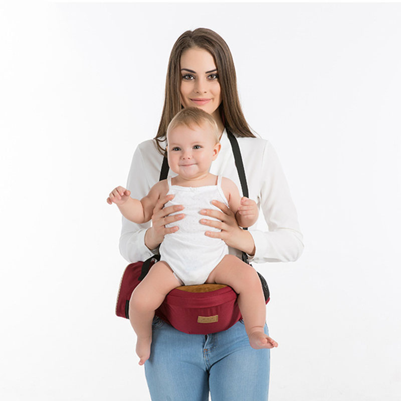 Children's single stool baby seat stool multifunctional baby waist stool strap four seasons universal summer breathable front