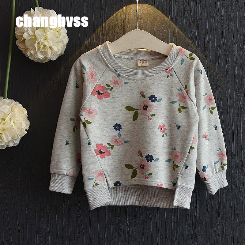 2017 New Children's Sweater Spring Autumn Baby Hoodie Sweatshirts For Girls Kids Baby Girl Sweater Pullovers Long Sleeve T-shirt
