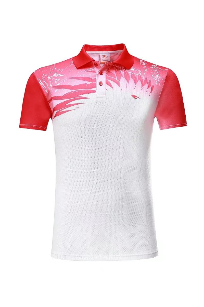 Golf Clothing Mens Golf Polo Shirts 100 Polyester Badminton T