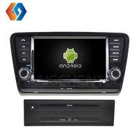Автомобильный dvd плеер 2 Din для Volkswagen SKODA OCTAVIA 2013 сенсорный экран Android 9,0 Восьмиядерный gps навигация автомобильное радио BT WiFi 4G