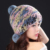 Chapéu de pele de Inverno 2017 Da Moda Natural Rex Rabbit Fur Cap Gorros Quentes Chapéus de Inverno Para As Mulheres Da Moda Senhora Earflap Caps