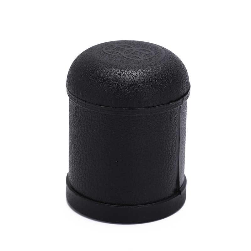 1 Pc Kunststoff Material Schwarz Spiel Spielzeug Kunststoff Würfelbecher Schütteln Tasse