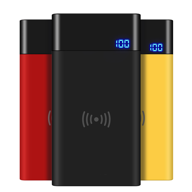 VVKing Power Bank QI Sans Fil Chargeur 8000 mah Pour iPhone X XS Xr 8 plus la Batterie Chargeur Sans Fil Powerbank Pour samsung S9 S8 Plus - 6