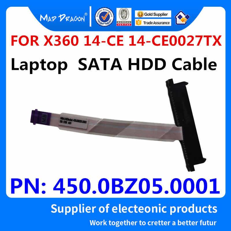 New SATA SSD HDD hard drive connettore del cavo Per HP X360 14-CE 14-CE0027TX 14-AF 14-AC14-BA 14M-BA 14T-B 240 g4 450.0BZ05.0001