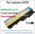 4400 mah batería del ordenador portátil para lenovo g460 g470 g460a g560 v360 z460 z465 z560 l09s6y02 l09c6y02 l09l6y02 l09m6y02
