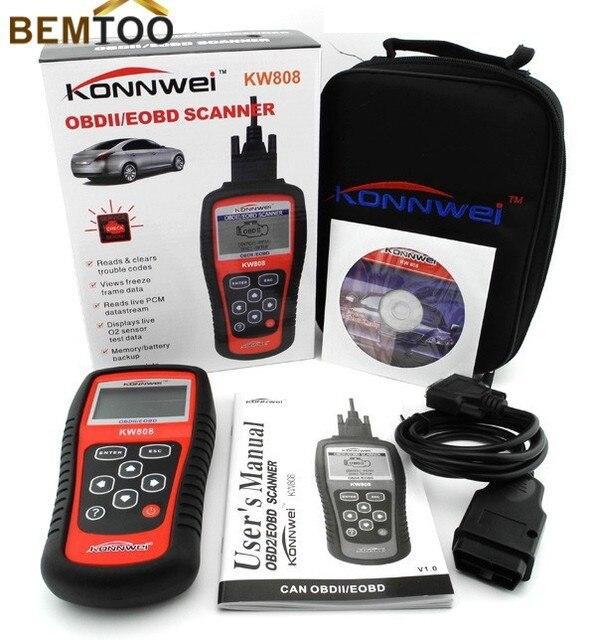 BEMTOO Горячая Продажа для MS 509 KW808 Obdii/eobd code Reader Autel Maxiscan Ms509 Авто Сканер Охват (сша азиатские и Европейские)