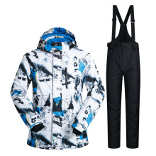Outdoor Waterproof Windrpoof Set Skiing Snowboard Jacket And Pants Brand New Mens Winter Ski Suit Men M-3XL