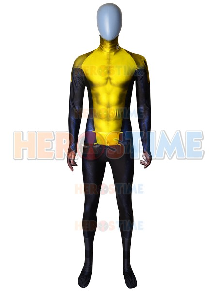 Superman Superhero Cosplay Costume 3D Printed Lycra Spandex Superboy Halloween Costume Bodysuit Custom Made
