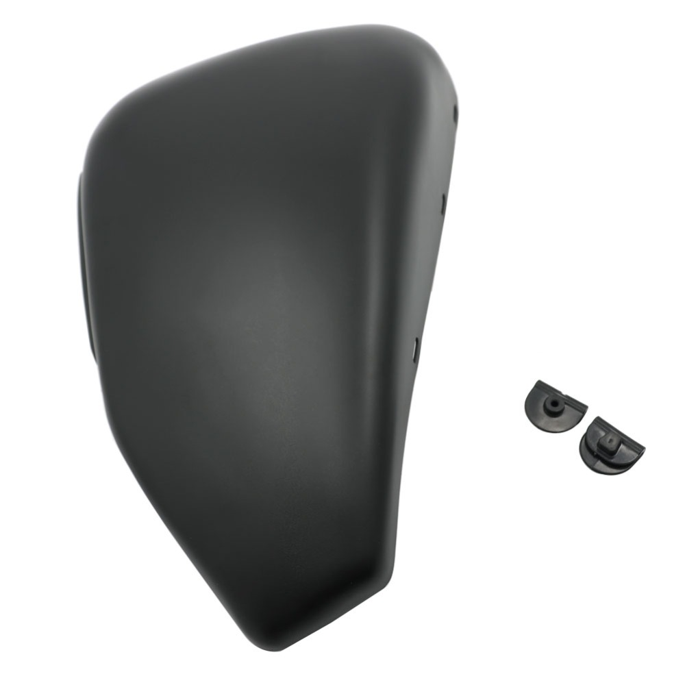 Matte / Gloss Black Steel Matt Black Left Battery Side Cover 2004-2013 For <font><b>Harley</b></font> Sportster 48 72 <font><b>Iron</b></font> XL883 XL1200 XL <font><b>883</b></font> 1200 image