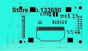 Image 3 - 3.3v 2.42 cal zielony 128x64 moduł wyświetlacza oled moduł oled 8bit 6800/8080 4 SPI seryjny I2C interfejs iic 16PIN SSD1309 sterownik