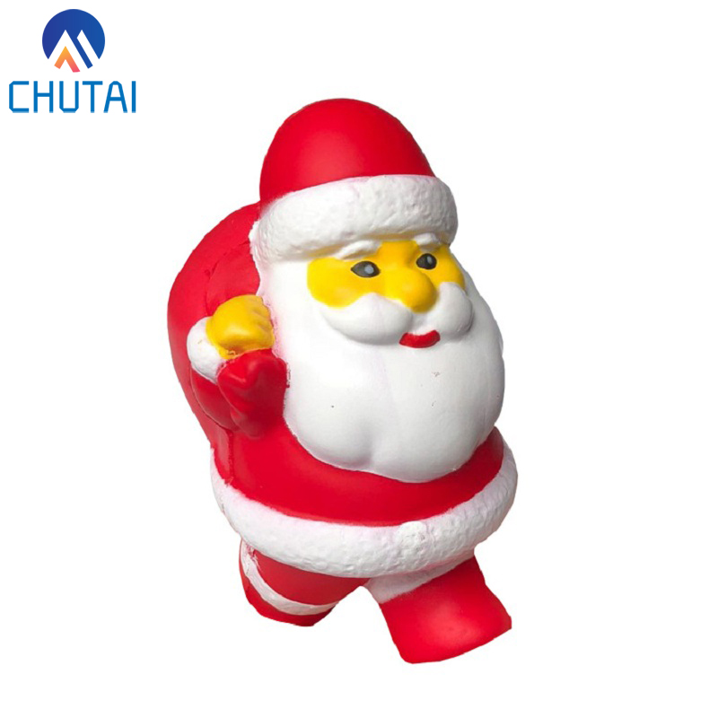 Jumbo Kawaii Santa Claus Christmas Snowman Tree Squishy Toys Soft Scented Squishy Slow Rising Squeeze Toys Stress Relief Toy