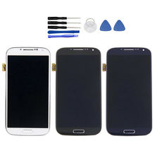 100% Tested for SAMSUNG Galaxy S4 LCD Display GT-i9505 i9500 i9505 LCD Touch Screen Digitizer Display Assembly стоимость