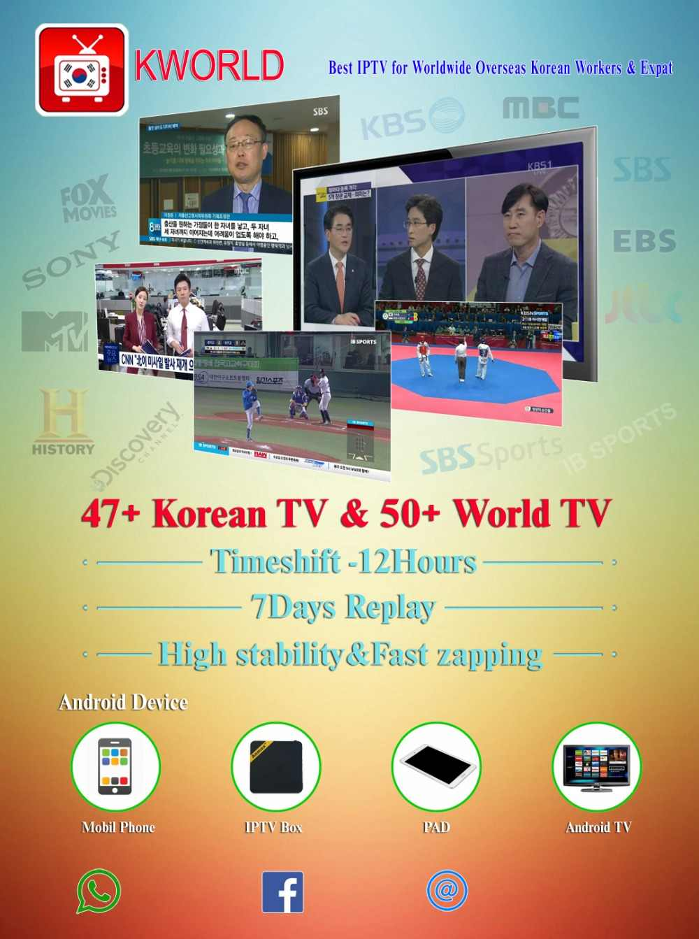 Detail Feedback Questions about HD korean IPTV box,47 korean
