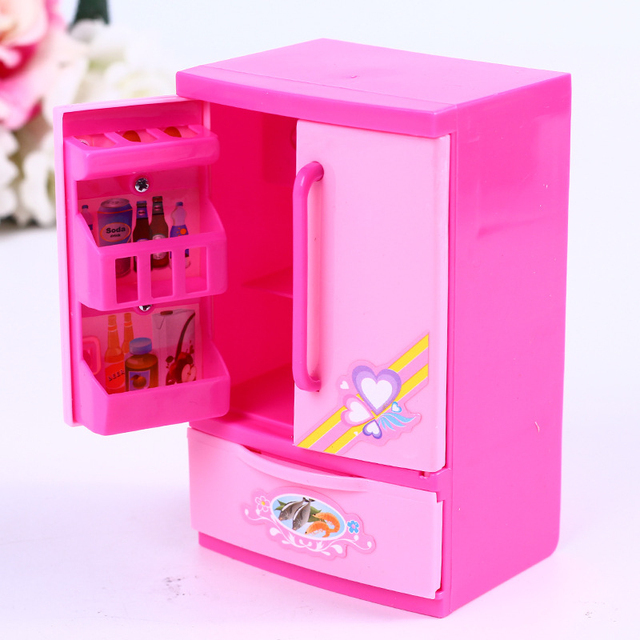Mini Simulation kühlschrank spielzeug Mini Elektrische Küchengeräte ...