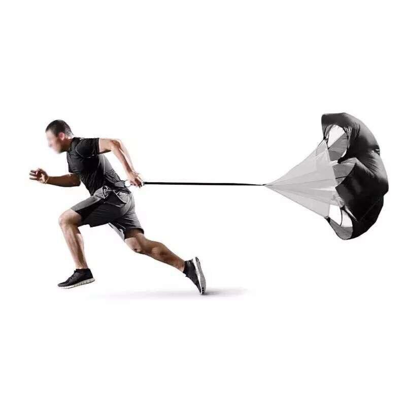 Professional скорость парашют обучение зонтик футбол сопротивление веревка бег желоб для Бодибилдинг stamina мощность
