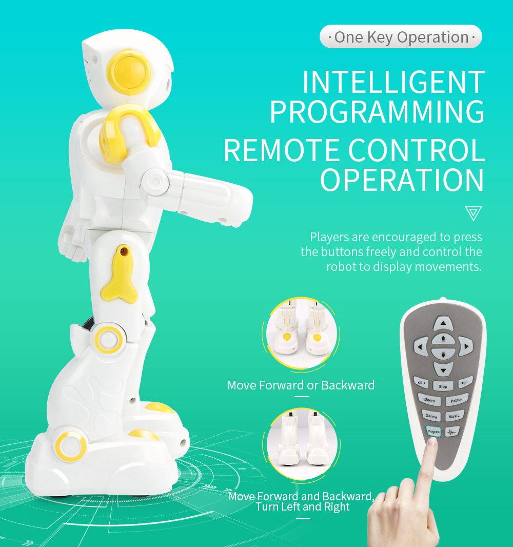JJRC R12 Remote Control Smart Robots Cady Wiso RC Robot Gesture Sensing Touch Intelligent Dancing Electronic Toy For Children (8)