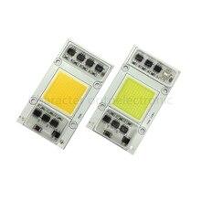 AC 220V  50W LED COB communication chip IC intelligent drive without theWarm white 3000K Cool white 6000K light bulb for LED DIY on chip communication architectures
