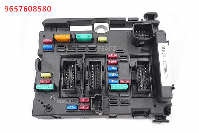 9657608580 fuse box module general system relay controller body control for peugeot  206 cabrio 307 cabrio 406 coupe 807| | - aliexpress  aliexpress