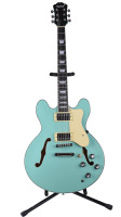 2019 New Feeling Electric Jazz Guitar semi hollow Green color Free shipping