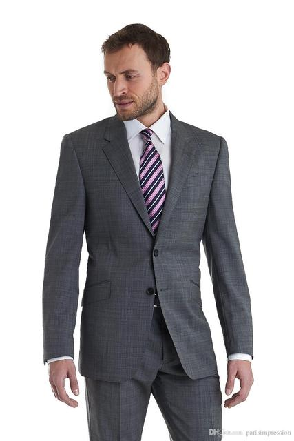 Custom made mens light gray suits mens wedding tux party formal custom made mens light gray suits mens wedding tux party formal dress groom suit costume homme junglespirit Images