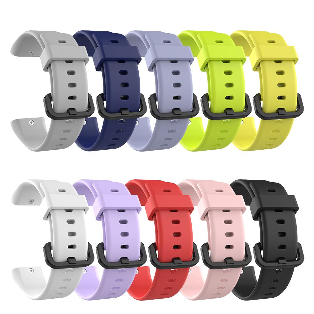 New Silicone Replacement <font><b>Strap</b></font> Sports Waterproof Breathable Wristband Durable Watch Band For Huami <font><b>Amazfit</b></font> <font><b>Cor</b></font> <font><b>2</b></font> Smart Bracelet image