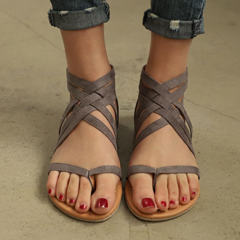 Sexo Moda Casual marrón Libre Mujeres Verano Planos 1 Flop Del Siketu Flip Sandalias 3 L235 Envío Zapatos De C8wq8vHF0x