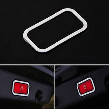 цена на Auto Car Electric Tail Door Switch Button Frame Trim Styling For Mercedes Benz E Class GLA GLC GLK CLS ML GL GLE GLS etc