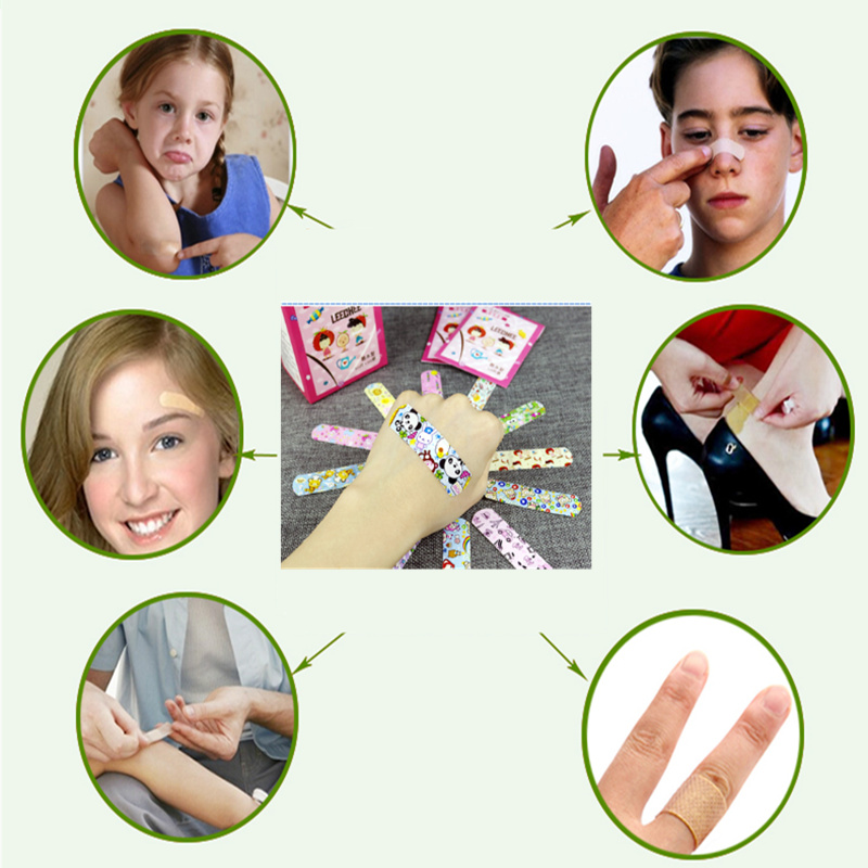 Cute-Cartoon-Waterproof-Breathable-Band-Aid-Hemostasis-Adhesive-Bandages-First-Aid-Emergency-Kit-For-Kids-Children-100pc-3