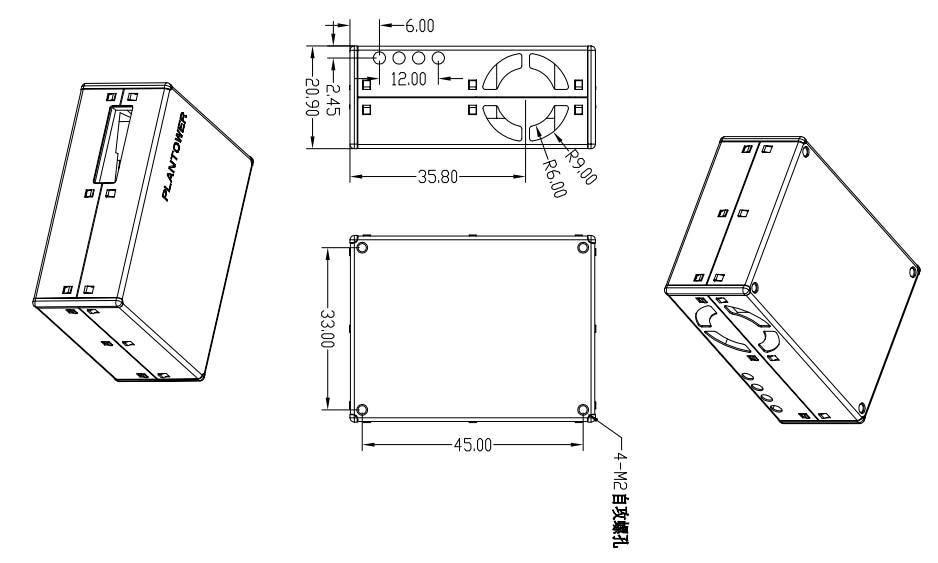 PMS5003 Dust laser Sensor Module
