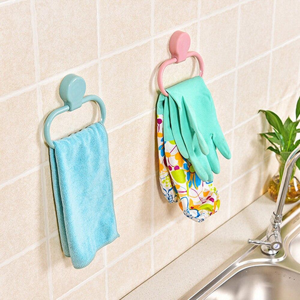 Portable Kitchen Holder Towel Rack Bar Hanging Holder Bathroom ...