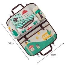 Portable Waterproof Backseat Multi-Pocket Baby Supplies Organizer