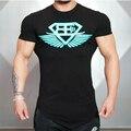 2016 Arrival GymShark Stringer t shirt Top Men Gymshark Bodybuilding and Fitness Men's Singlets Tank Shirts Sporting Clothes