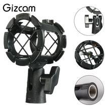 Gizcam Портативный Новый профессиональный микрофон Камера шок крепление микрофона для Подставки для микрофона для Studio Sound Запись подставка держатель