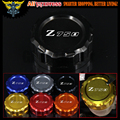 Motorcycle CNC Aluminum Rear Brake Fluid Reservoir Cover Cap For Kawasaki Z750 2007 2008 2009 2010 2011 2012 2013 2014 2015 2016