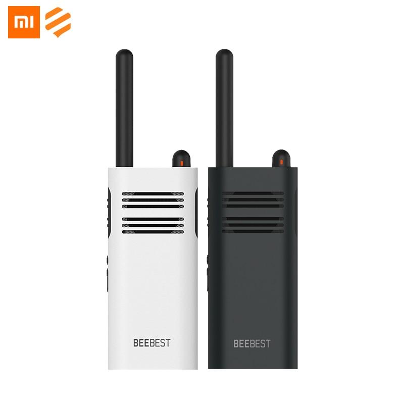Original Xiaomi Beebest Xiaoyu Handheld Walkie Talkies Repeater 1-5KM Two Way Radio White 2000mAh Blue 3350mAh Walkie Talkie